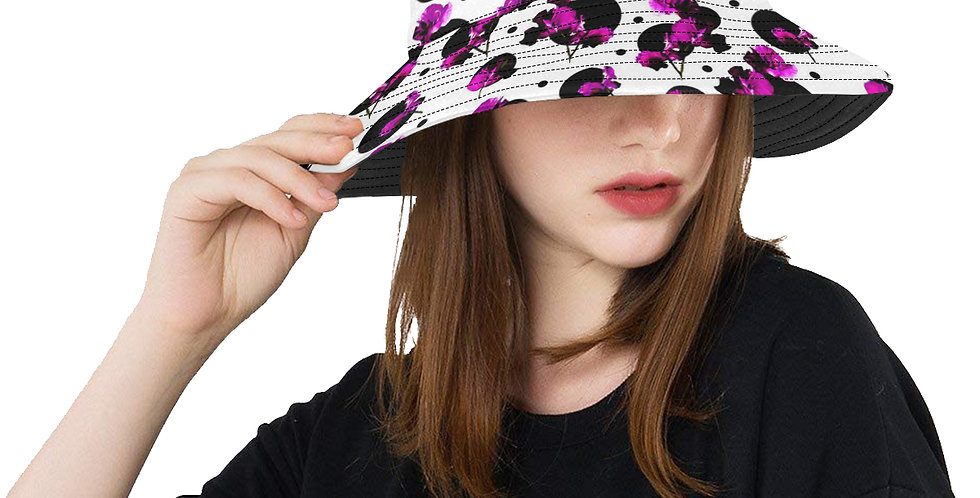 Sweet Pea Passion - Bucket Hat