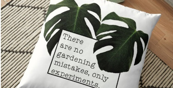 No Gardening Mistakes - Cushion Cover