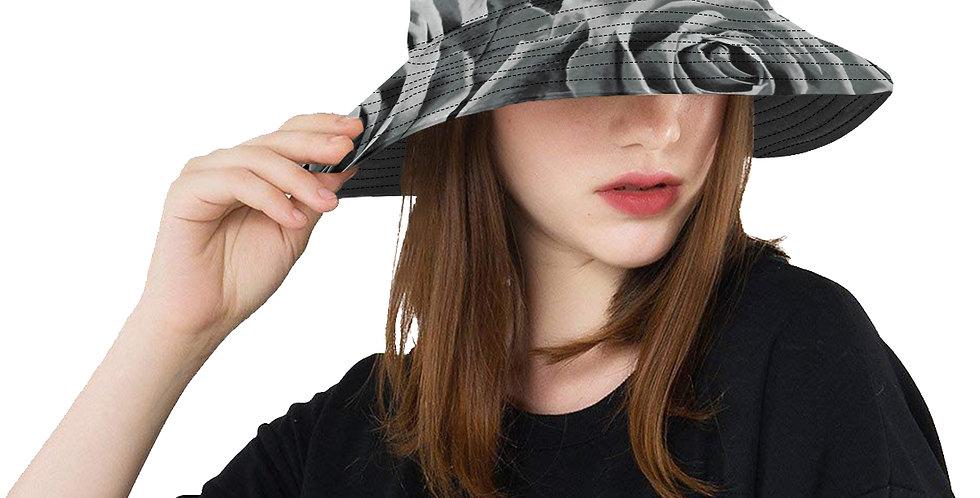 Gypsy Rose Silver Mist - Bucket Hat