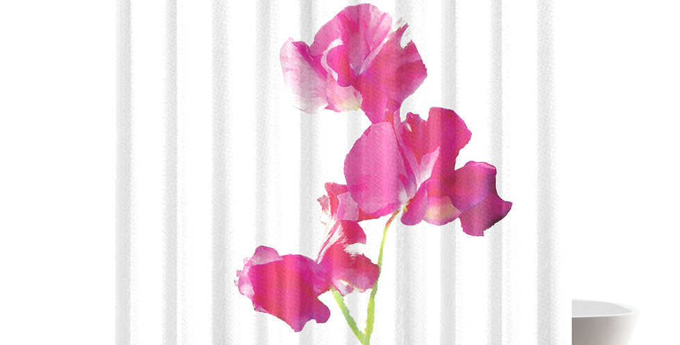 Sweet Pea - Shower Curtain
