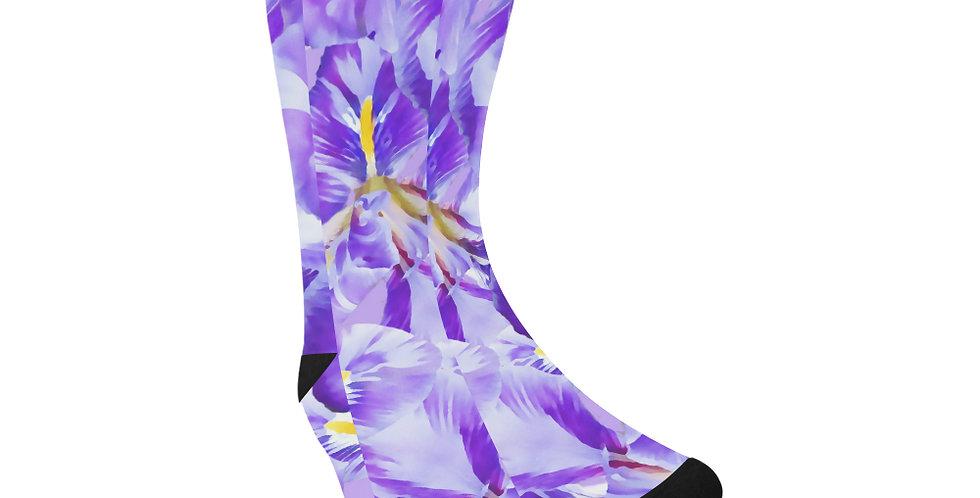 Winter Iris - Unisex Socks (Made in Australia)