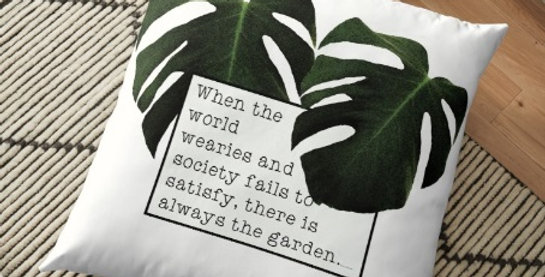 When the World Wearies - Cushion Cover