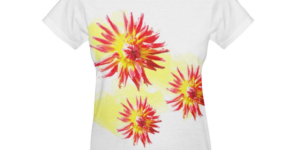 Dahlia Fireworks - T-shirt