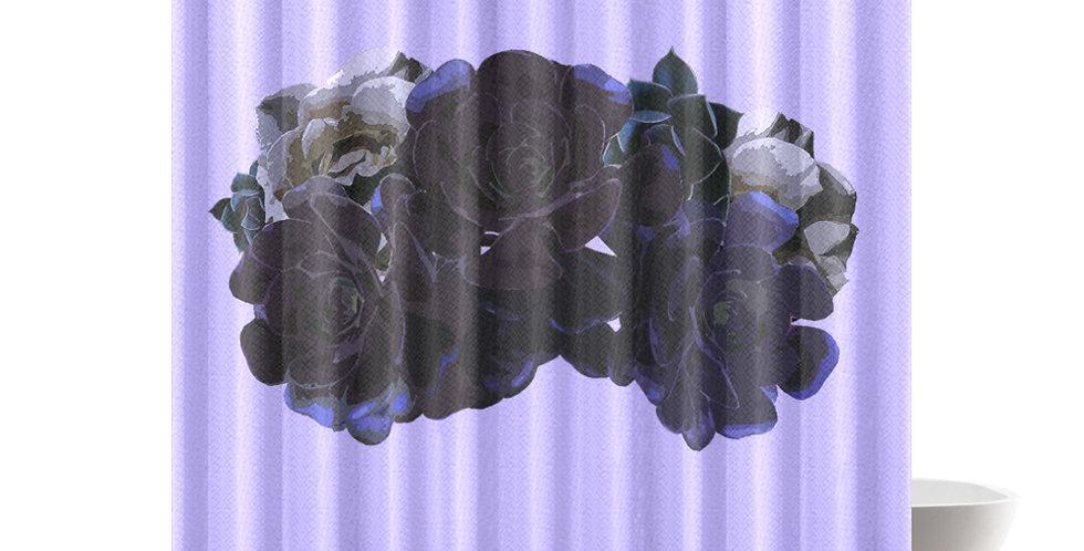 Succulent Roses - Shower Curtain