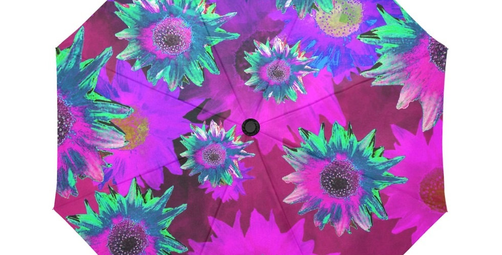 Strawflower Sizzle Purple/Pink - Botanical Umbrella
