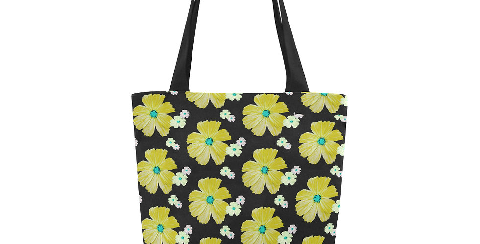 Cosmos Choas Yellow - Tote Bag