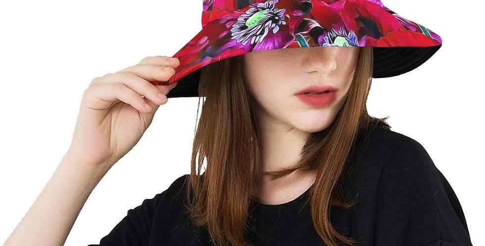 Red Poppies - Bucket Hat