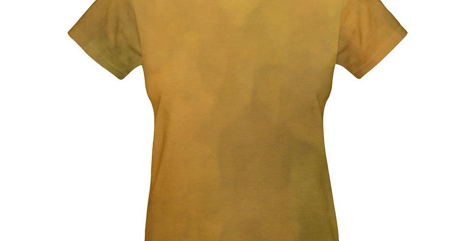 Rainbow Iris Washed Yellow - T-shirt