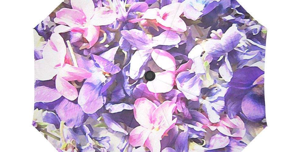 Wild Violets - Botanical Umbrella