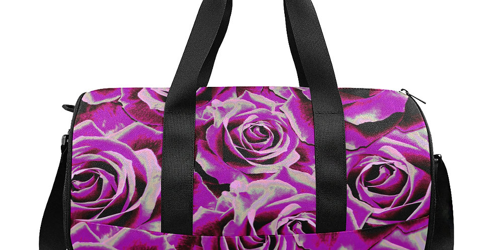 Gypsy Rose Party Pink - Gym / Workout / Camping / Travel Duffel Bag