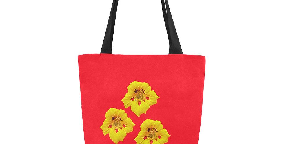 Ladybug Nasturtium - Tote Bag