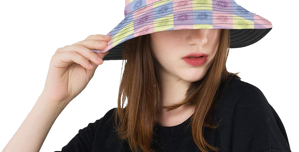 Pastel Poppies - Bucket Hat