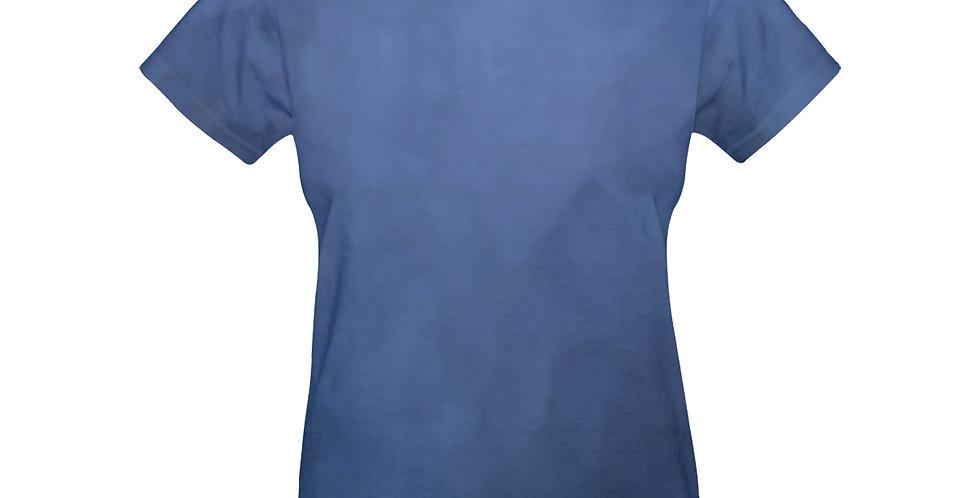 Rainbow Iris Washed Blue - T-shirt