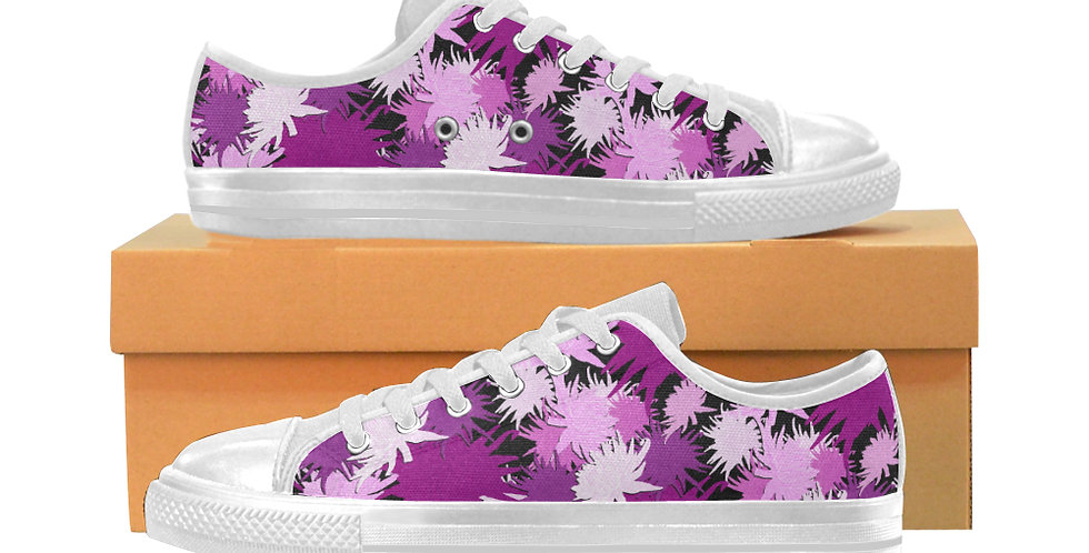 Mrs Rees - Women's Canvas Sneakers