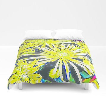 yellow-chrysanthemums2131748-duvet-cover