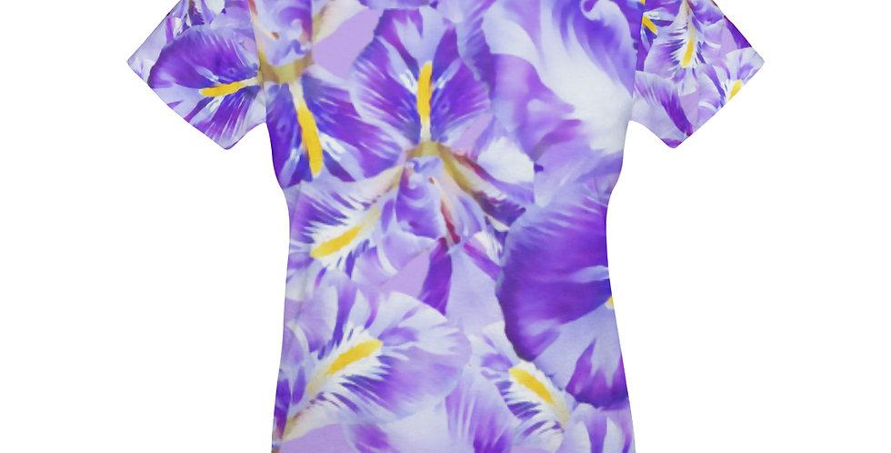 Winter Iris - T-shirt