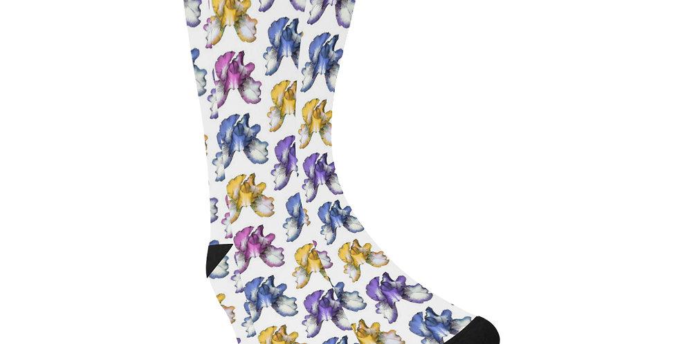 Rainbow Iris -  Unisex Socks (Made in Australia)