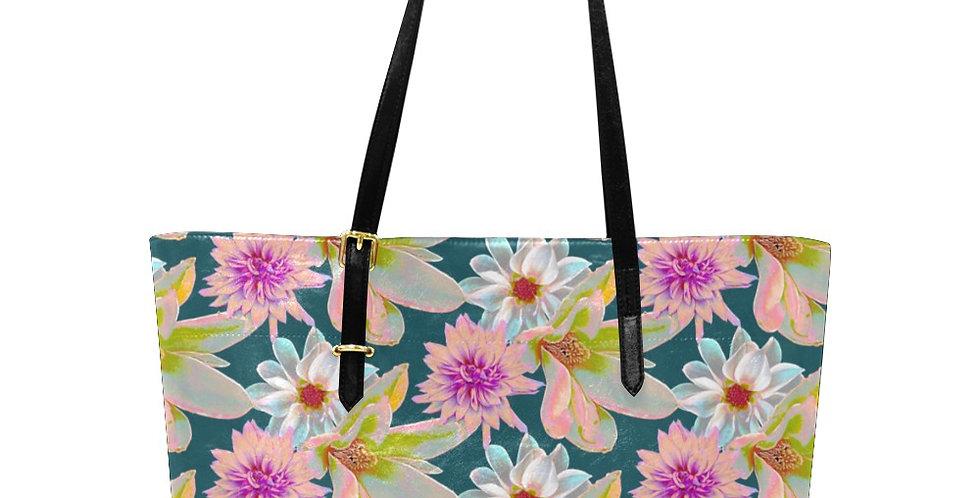 Vintage Floral - Large Tote Bag