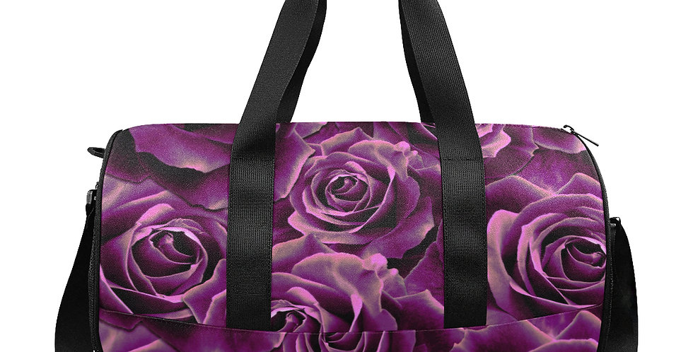 Velvet Roses Pink - Gym / Workout / Camping / Travel D