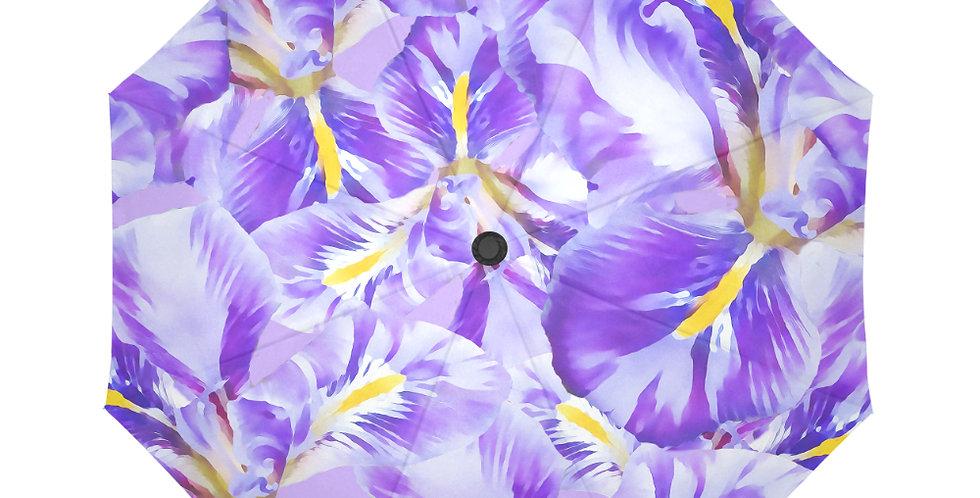 Winter Iris - Botanical Umbrella