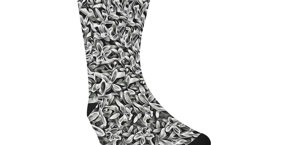 Frosted Hebe - Unisex Socks (Made in Australia)