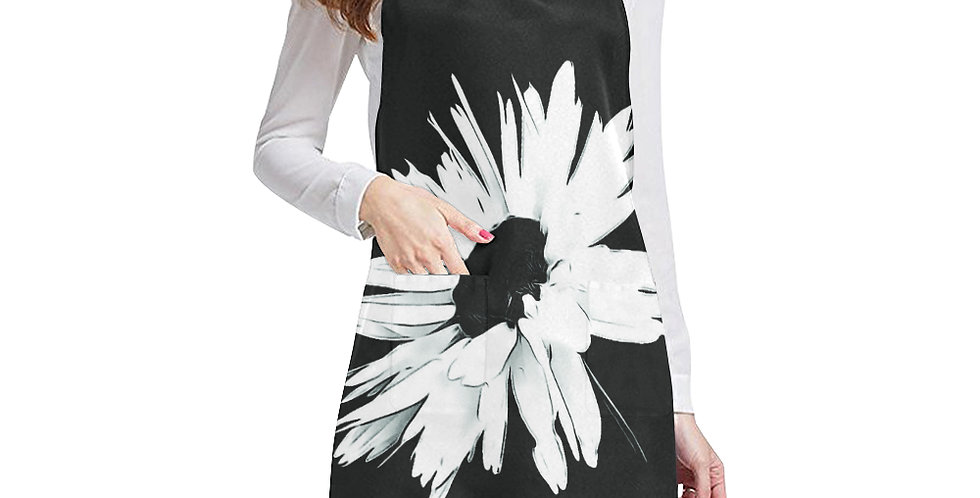 Bunch of Daisies (single daisy) Apron - Adjustable
