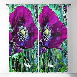 Poppy Pod Curtains