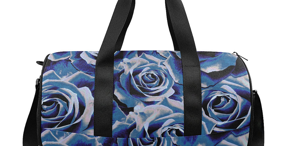 Gypsy Rose Persian Blue - Gym / Workout / Camping / Travel Duffel Bag