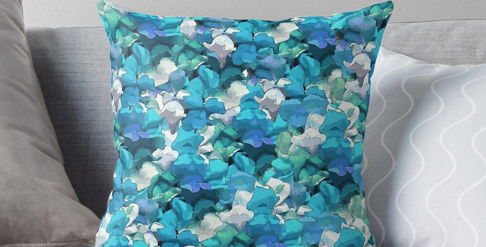 Snappy Blue - Cushion Cover