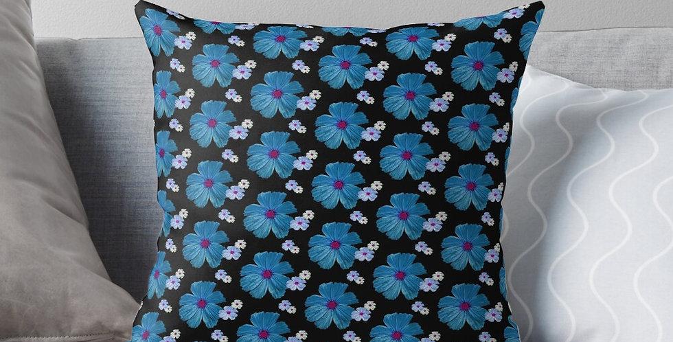 Cosmos Chaos Blue - Cushion Cover