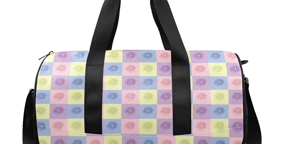 Pastel Poppies - Gym / Workout / Camping / Travel Duffel Bag