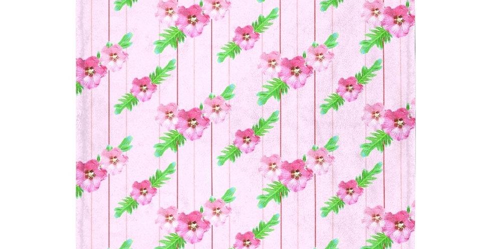Xanadu - Pink (small print) - Blanket