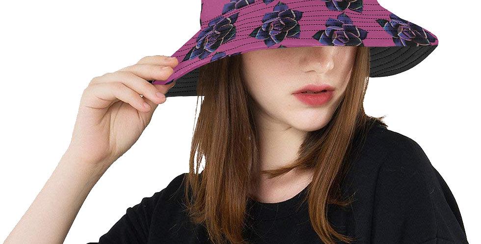 Pink Succulent - Bucket Hat
