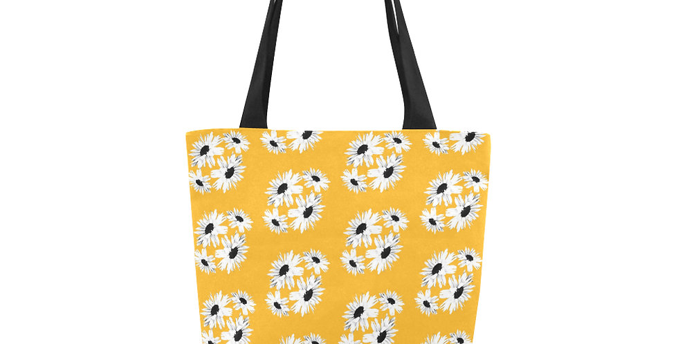 Bunch of Daisies Yellow (small print) - Tote Bag