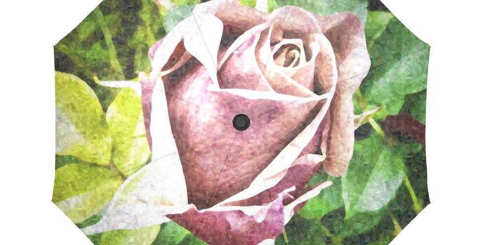 Soul Sister Vintage Rose - Botanical Umbrella