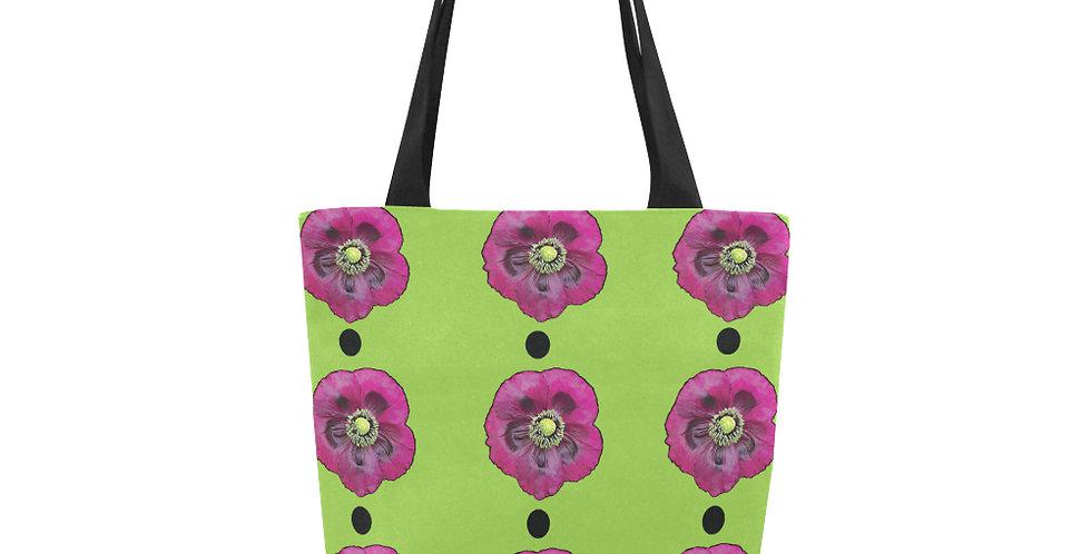 Purple Poppy (small print) - Tote Bag