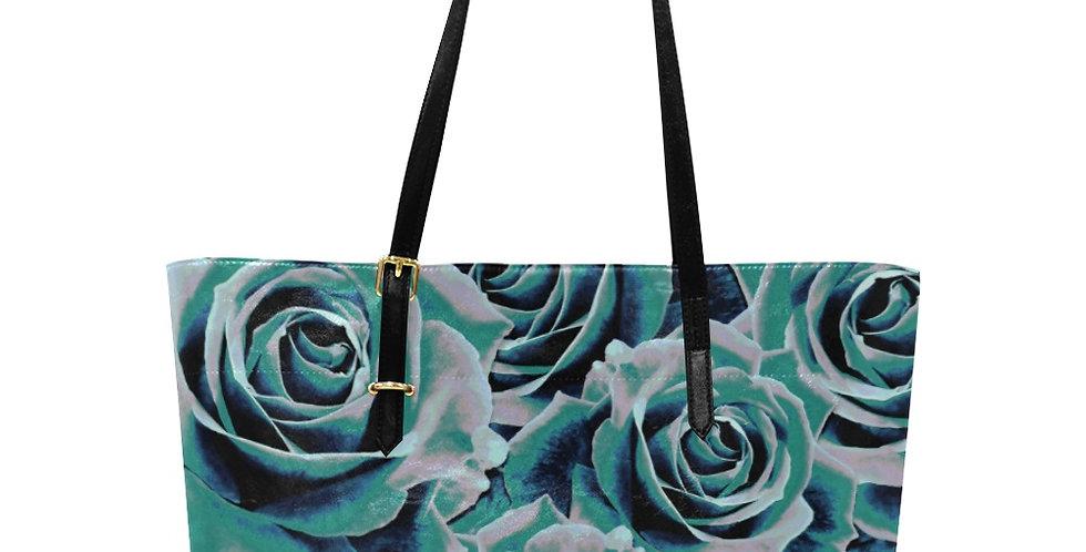 Gypsy Rose Stormy Skies - Large Tote Bag