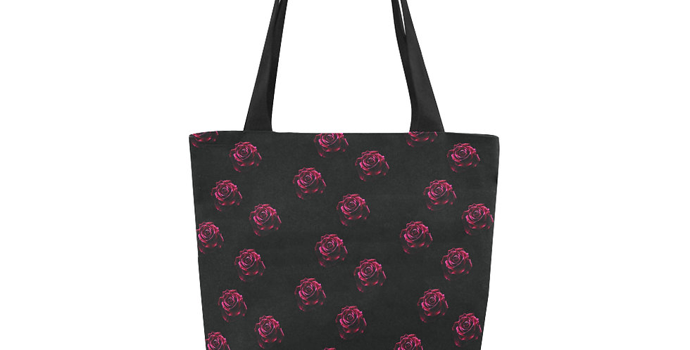 Red Red Roses Small Print - Tote Bag
