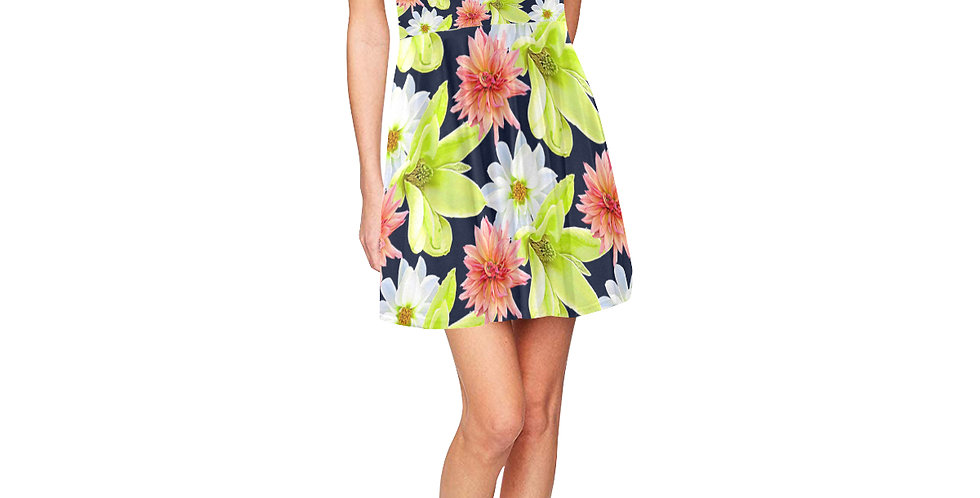 Magnolia Butterflies - Skater Dress