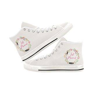 Poppy Pod Bridal Shoe