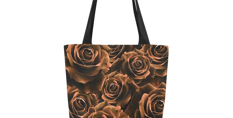 Velvet Roses Chocolate - Tote Bag