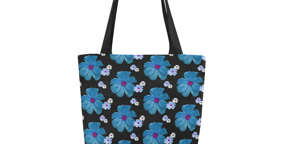 Cosmos Chaos Blue - Tote Bag