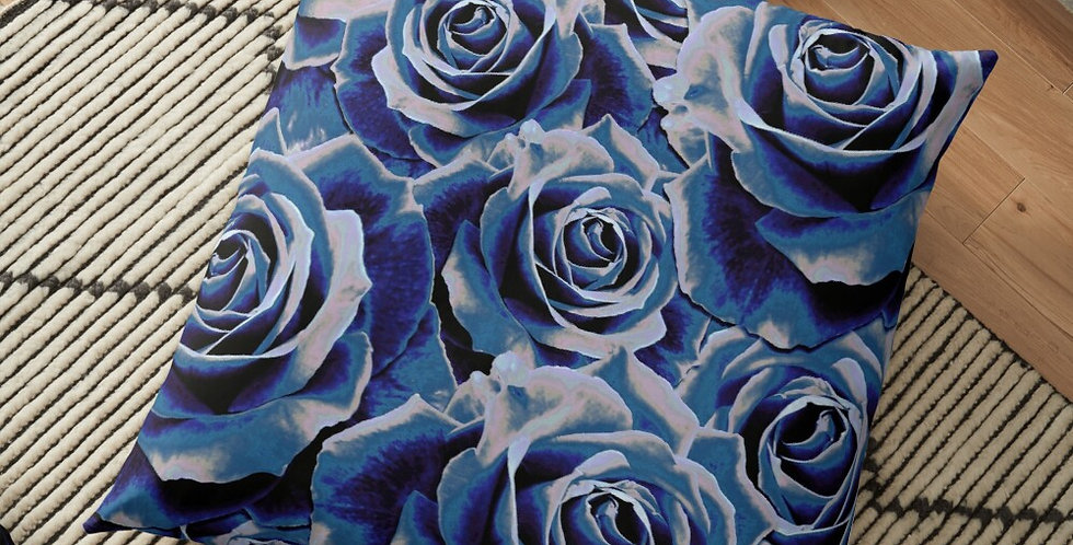 Gypsy Rose Persian Blue - Cushion Cover