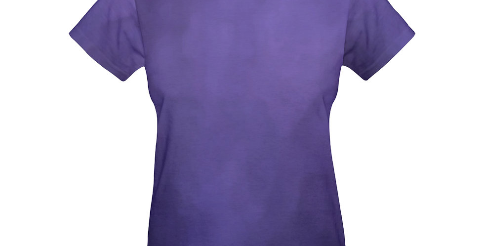 Rainbow Iris Washed Purple - T-shirt