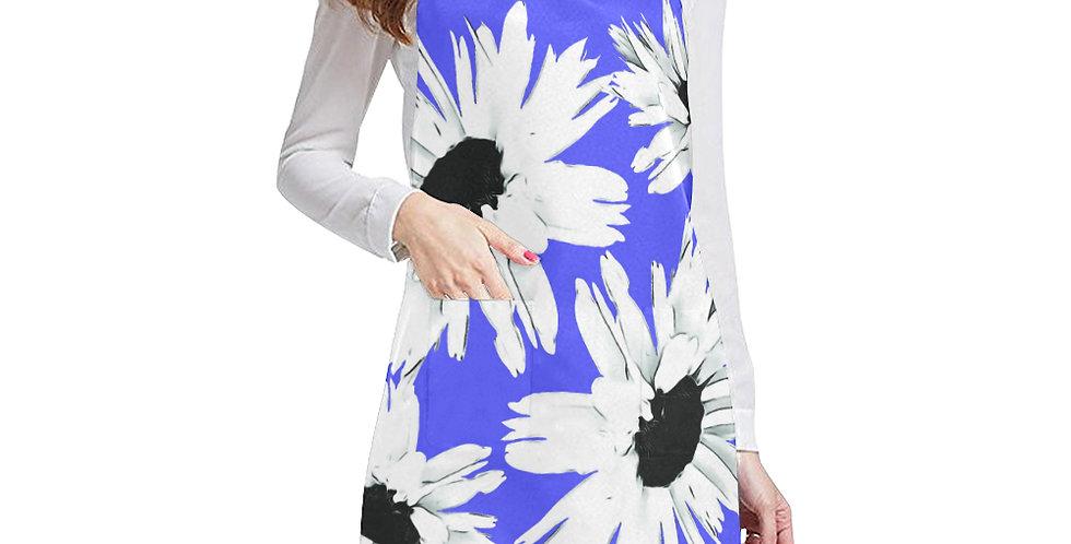 Daisy Love Deep Blue Apron - Adjustable
