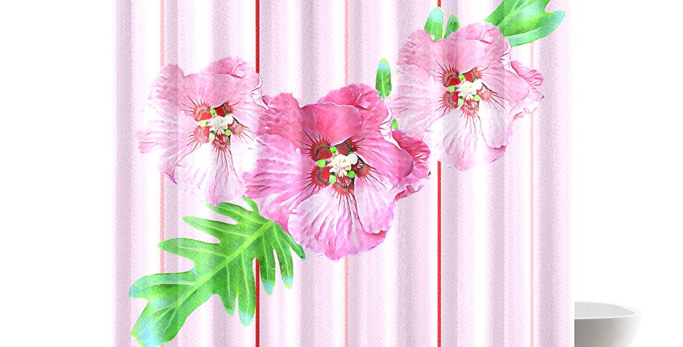 Xanadu (pink) - Shower Curtain