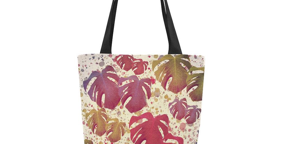 Monstera Leaves Vintage - Tote Bag