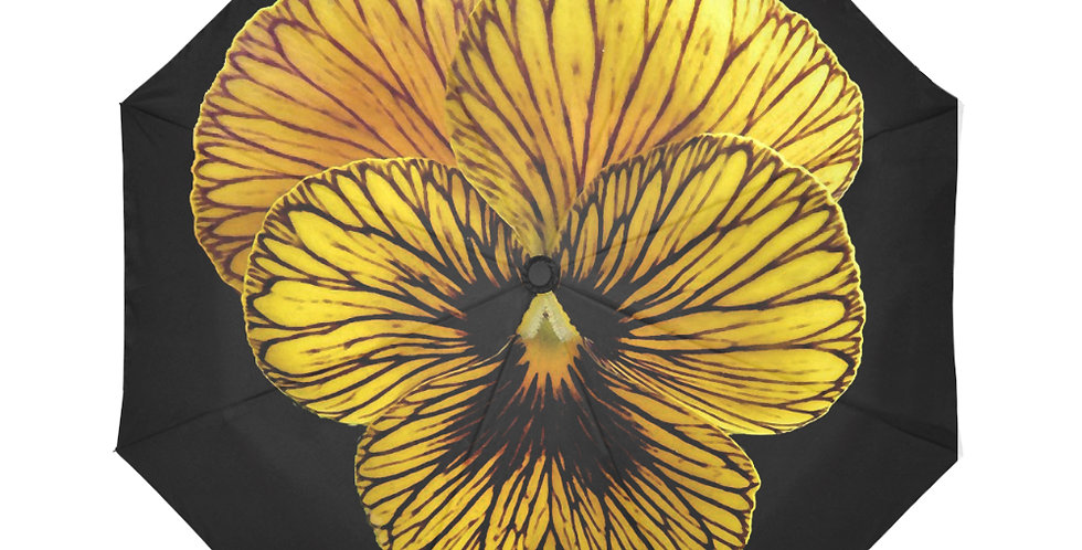 Pansy Tiger - Botanical Umbrella