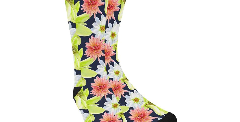 Magnolia Butterflies - Unisex Socks (Made in Australia)