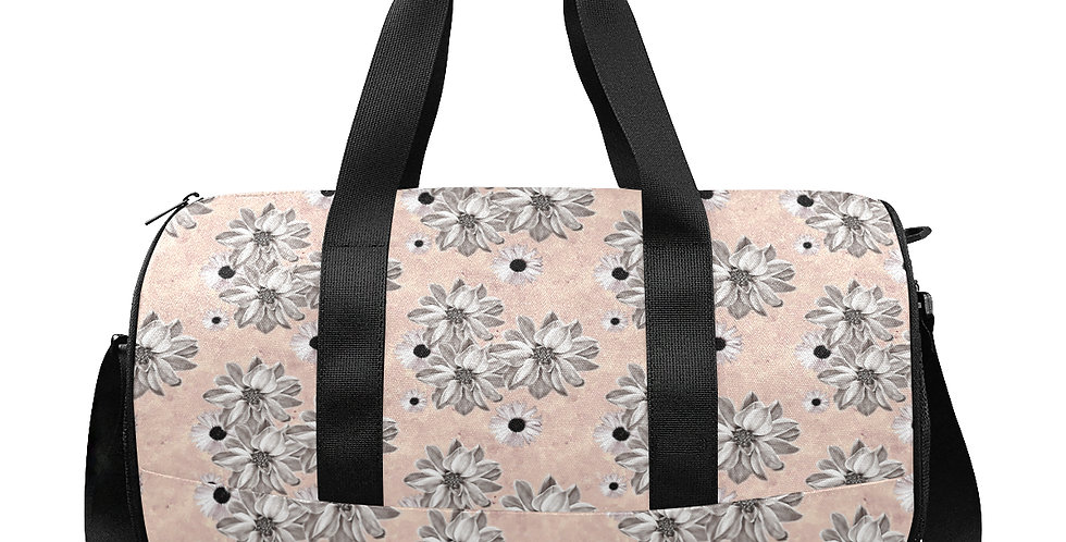 Floral Blush - Gym / Workout / Camping / Travel Duffel Bag